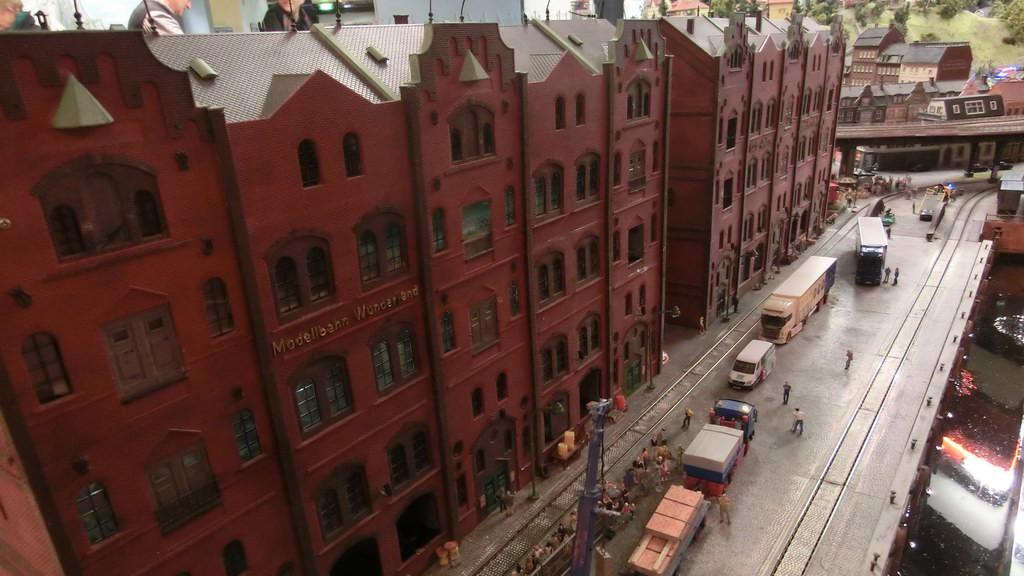 Speicherstadt Hamburg im Miniatur Wunderland