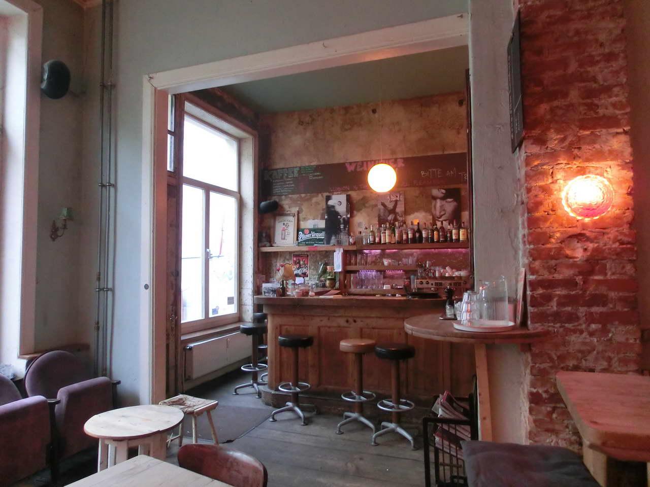 Kaffee-Stark-Innenraum