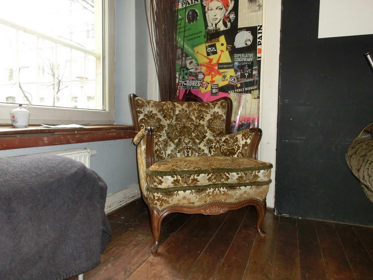 Kaffee-Stark-Sessel