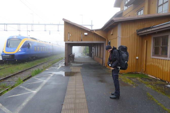 Südlicher Kungsleden - Storlien Bahnhof