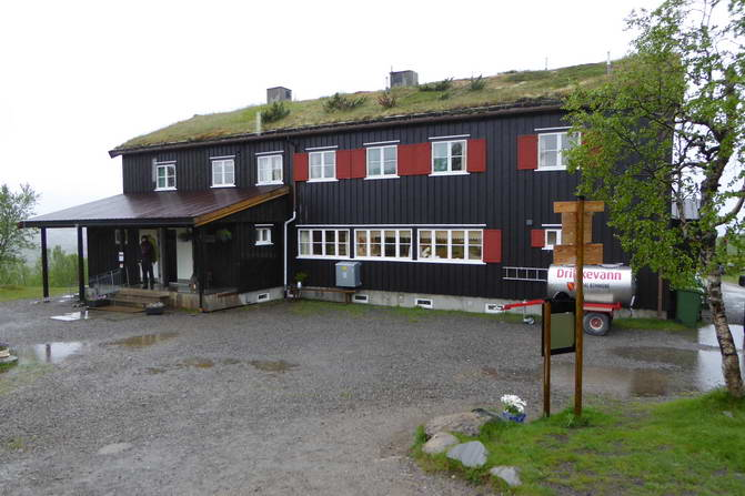 Wanderstation in Norwegen