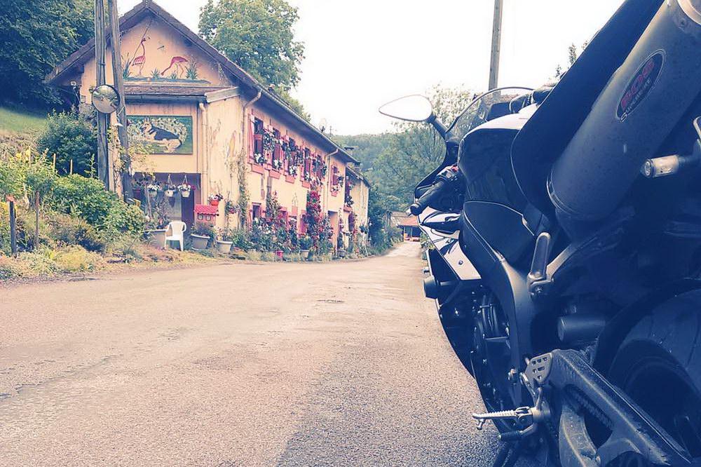 Motorradtour durch die Vogesen