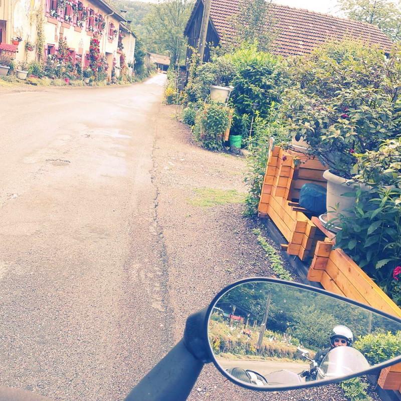 Motorradtour, Rückspiegel