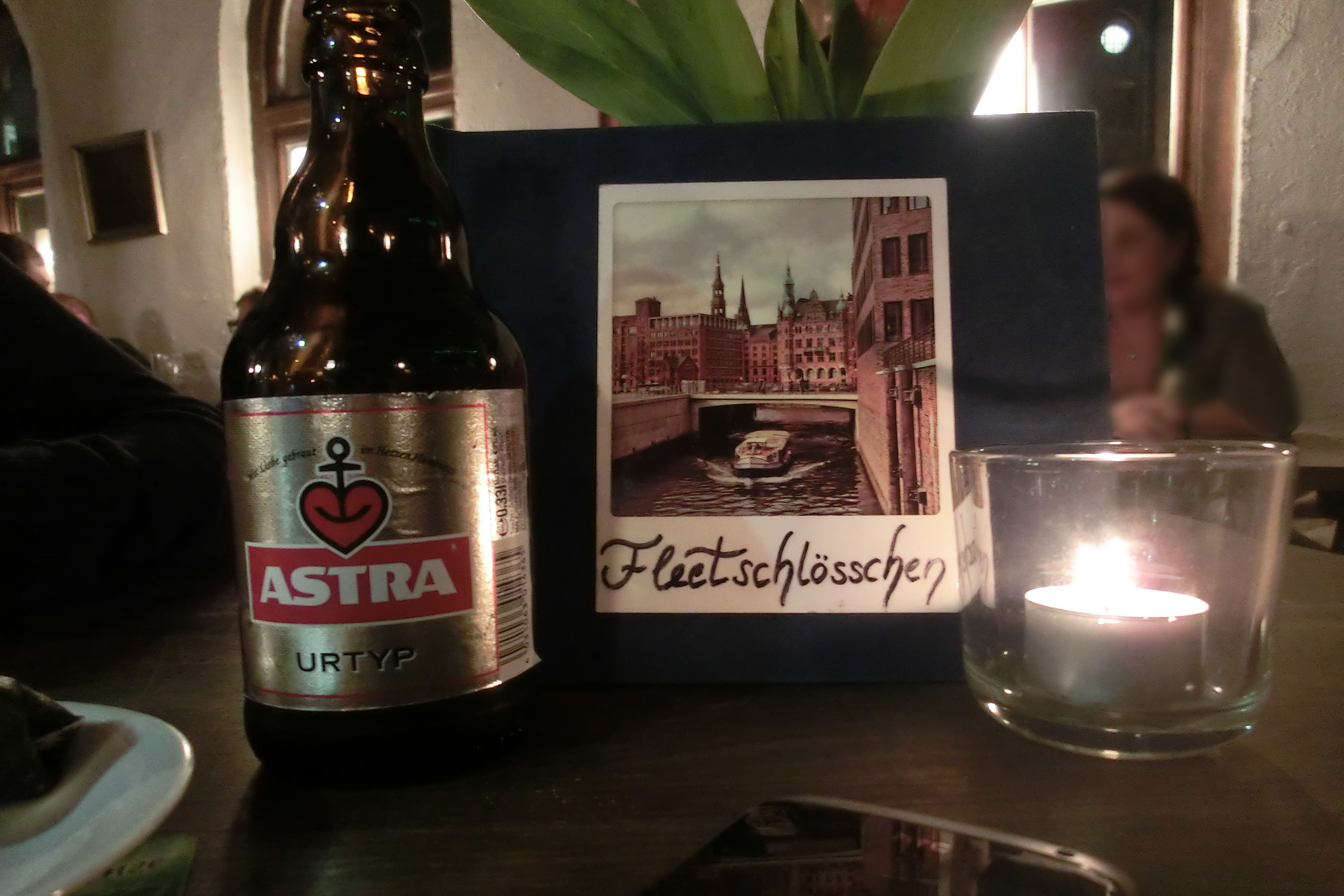 Astra aus Hamburg im Fleetschlösschen