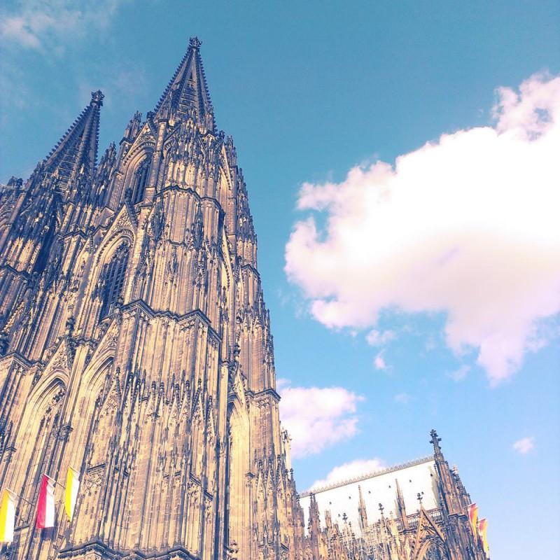 Betriebsausflug nach Köln: Dom