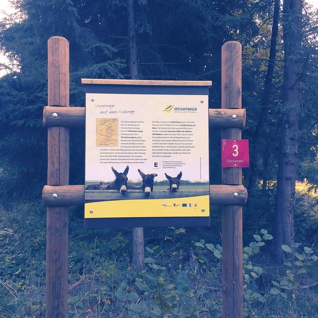 Spessartbogen Mernes - Eselsweg
