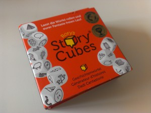 Weihnachtsgeschenke zum Thema Reisen - Story Cubes