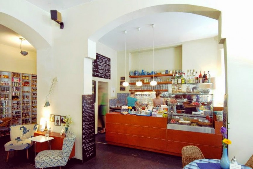 Café Fleury in Berlin - Theke