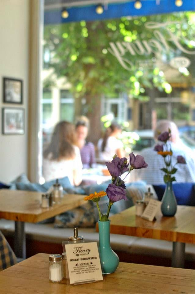 Café Fleury in Berlin - Terrasse