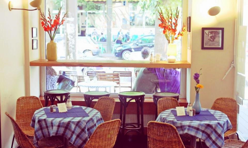 Café Fleury in Berlin - Tische