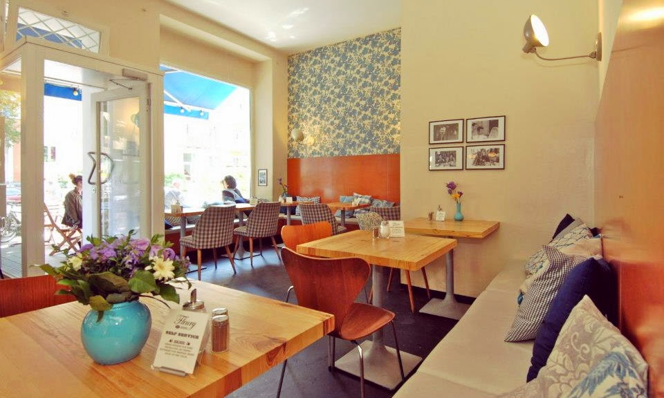 Café Fleury in Berlin - Sitzbereich