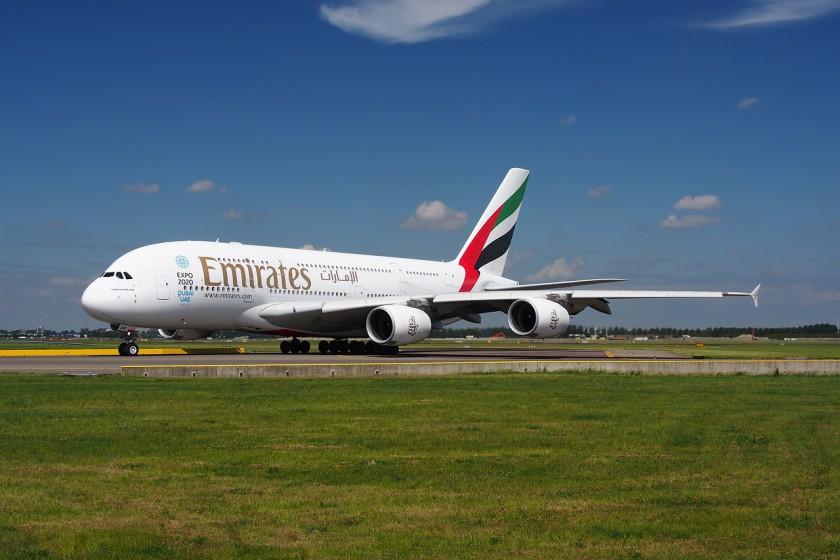 Flugbegleiterin bei Emirates