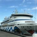 Kreuzfahrt auf der Aida - im Hafen
