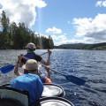 Kanutour durch Schweden - auf dem Wasser