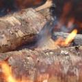 Brot backen im Feuer