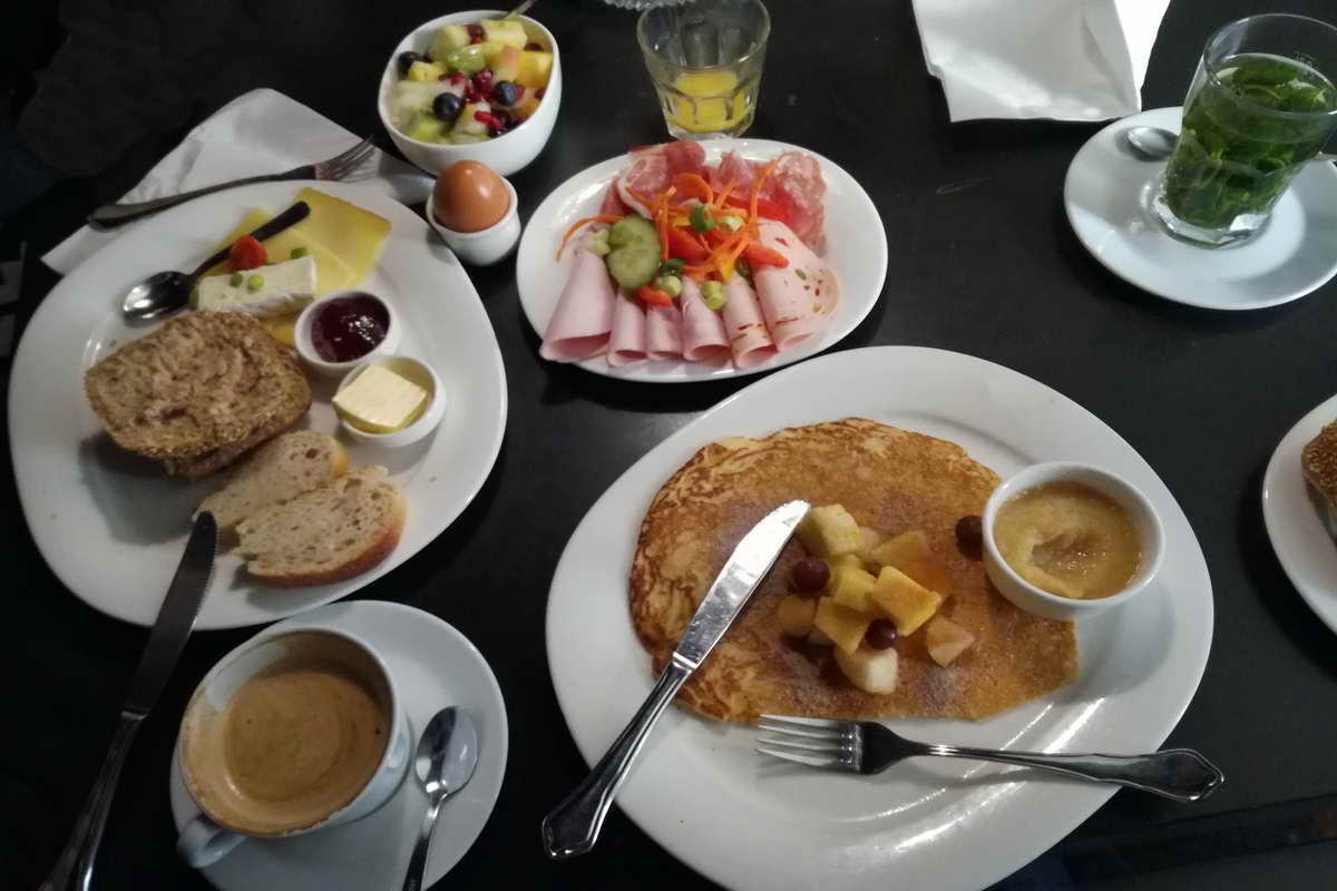 Frühstücken in Stuttgart im Lumen - Auswahl