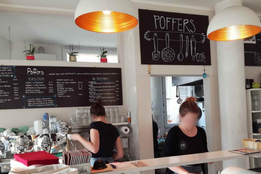 Poffers in Stuttgart - Theke
