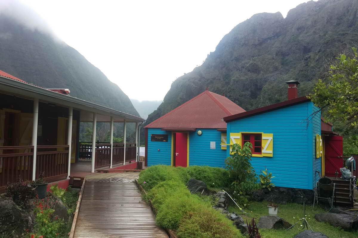 Wandern auf Réunion - Unterkunft in Mafate